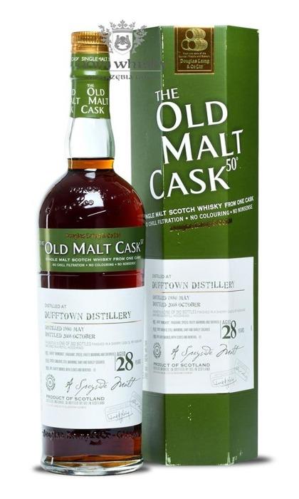 Dufftown 28-letni (D.1980, B.2008) Old Malt Cask / 50% / 0,7l