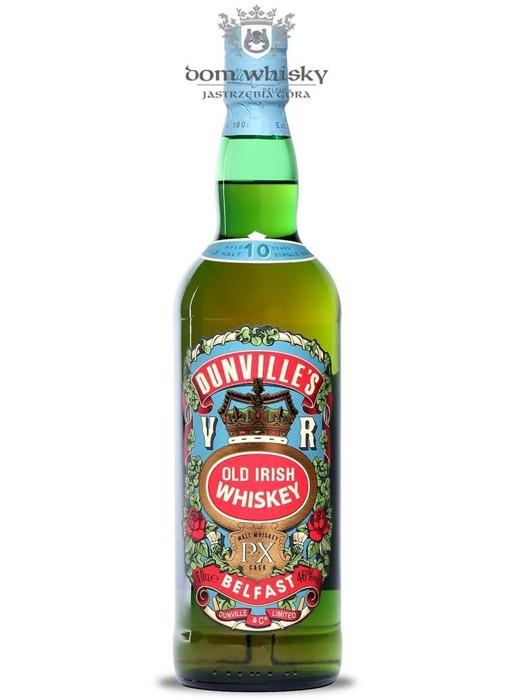 Dunville's 10-letni, Old Irish Whiskey PX / 46% / 0,7l