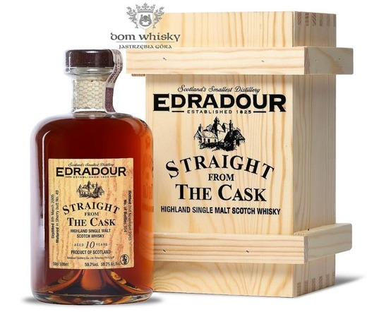 Edradour 2005, 10-letni Straight from the Cask(Sherry)/59,7%/0,5