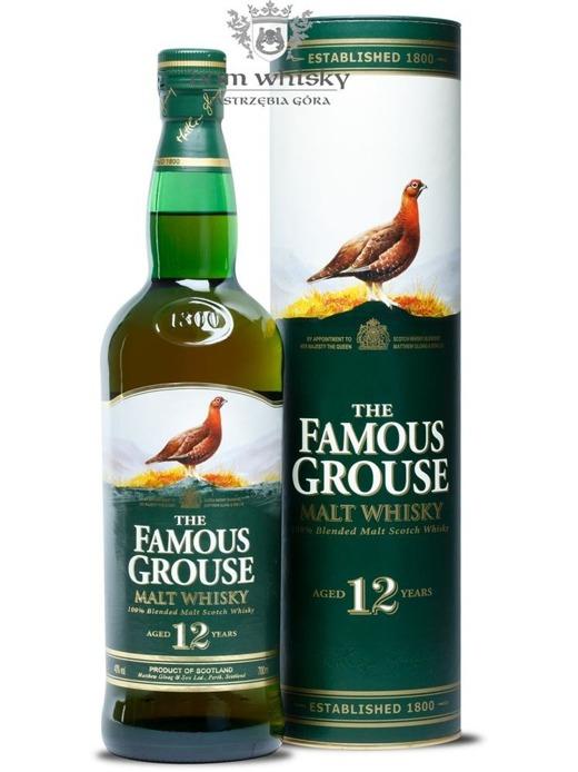 Famous Grouse 12-letni Blended Malt / 40% / 0,7l