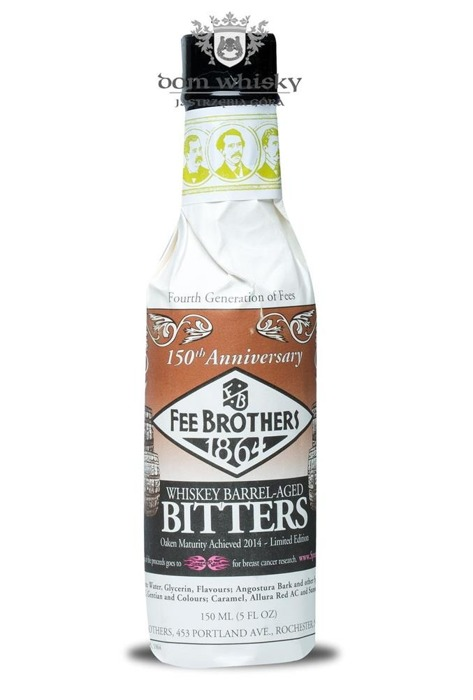 Fee Brothers Whisky Barrel Aged Bitters / 17,50% / 0,15l