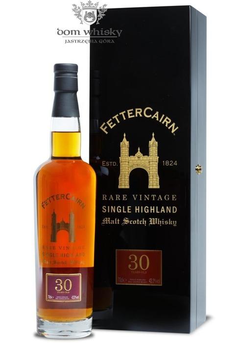 Fettercairn Rare Vintage, 30-letni (Distilled1978) /43,3%/0,7l
