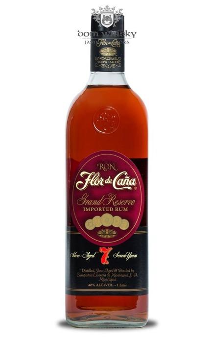 Flor De Cana 7 letni Grand Reserve Rum (Nicaragua) / 40% / 1,0l