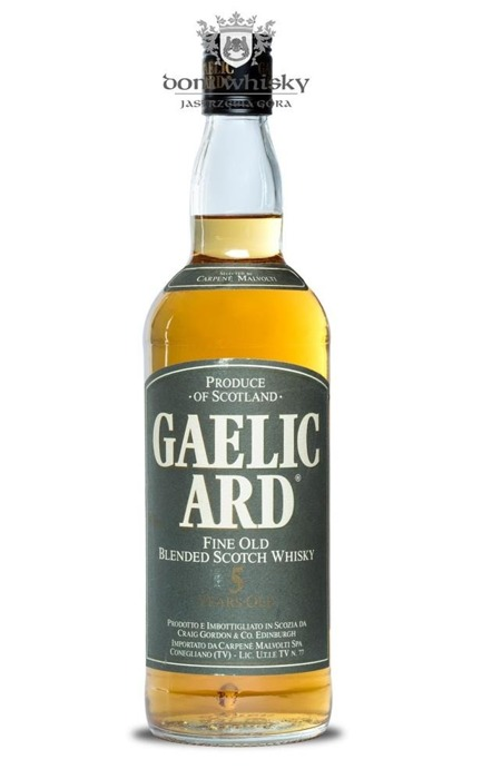 Gaelic Ard 5 letni Fine Old Blended  Scotch Whisky / 40% / 0,75l