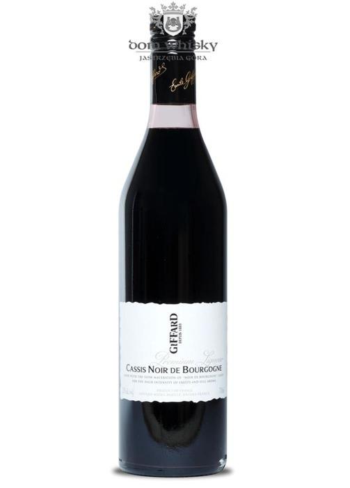 Giffard Cassis Noir de Bourgogne likier barmański / 20% / 0,7l