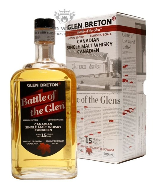 Glen Breton 15 letni Battle of the Glen / 43% / 0,7l