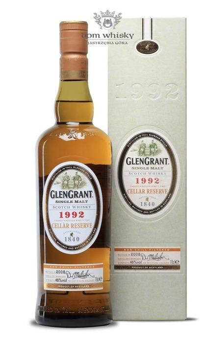 Glen Grant 1992 Cellar Reserve (Bottled 2008) / 46% / 0,7l