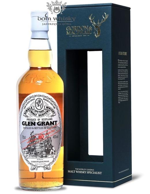 Glen Grant 40-letni, Gordon & MacPhail / 40%/ 0,7l