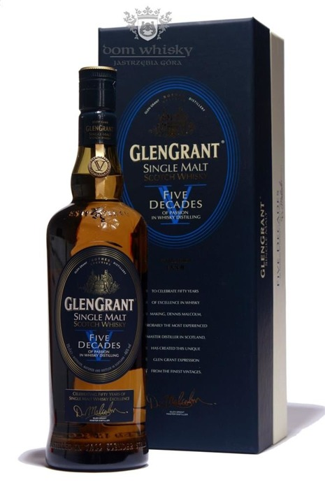 Glen Grant Five Decades (of Passion in Whisky Distilling)46%/0,7