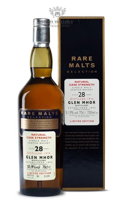 Glen Mhor 28-letni (D.1976, B.2005) Rare Malts / 51,9% / 0,7l