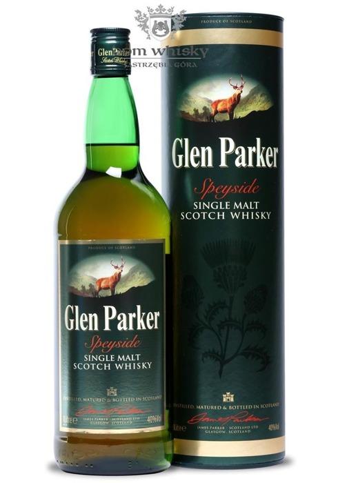 Glen Parker Single Malt / 40% / 1,0l