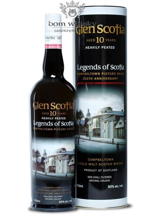 Glen Scotia 10-letnia Heavily Peated (Legends of Scotia)50%/0,7l