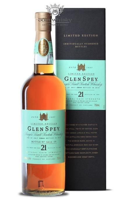 Glen Spey 21-letni (D.1989 B.2010) / 50,4% / 0,75l