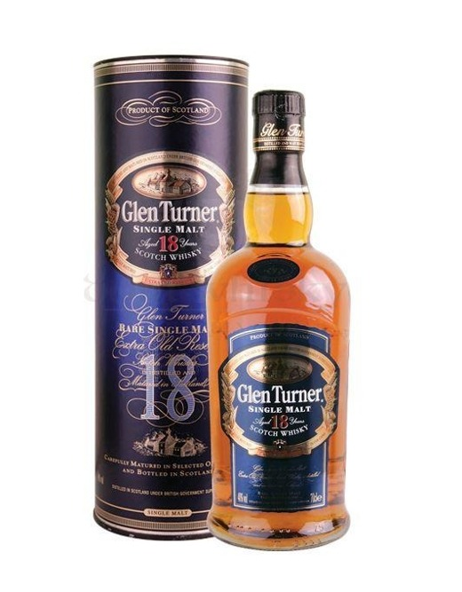 Glen Turner 18 letni Blue Label / 40% / 0,7l