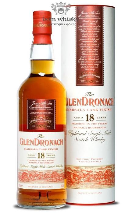 GlenDronach 18-letni Marsala Cask Finish / 46% / 0,7l