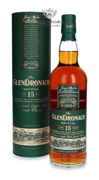 GlenDronach Revival 15-letni Oloroso Sherry Cask Matured/46%/0,7