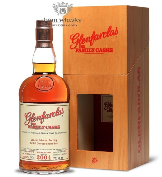 Glenfarclas The Family Casks 2004, Bottled 2015 / 60,4% / 0,7l