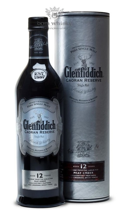 Glenfiddich 12-letni Caoran Reserve / 40% / 0,7l