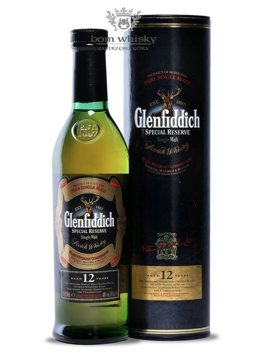 Glenfiddich 12-letni Special Reserve / 40% / 0,2l