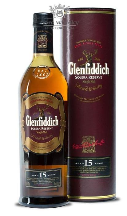 Glenfiddich 15-letni Solera Reserve / 40% / 0,7l