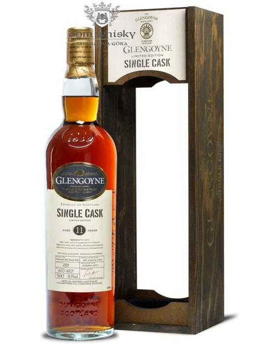 Glengoyne 11-letni Single Cask (D.2000, B.2011) / 58,5% / 0,7l