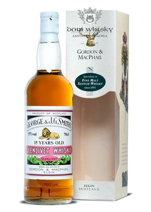 Glenlivet 15-letni Gordon&MacPhail(The Smith's Glenlivet)57%/0,7