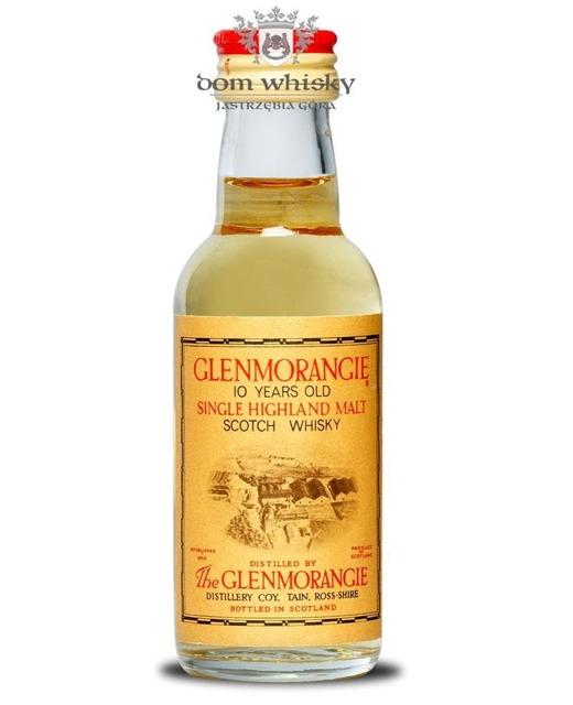 Glenmorangie 10-letni (Bottled 1980s) / 40% / 0,05l