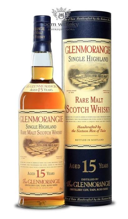 Glenmorangie 15-letni B.2007 / 43% / 0,7l