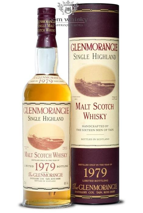 Glenmorangie 1979 Vintage (Bottled 1995) / 40% / 0,7l