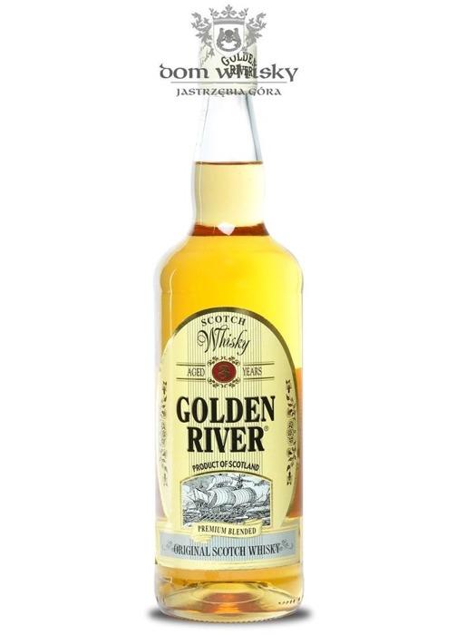 Golden River Premium Blended Whisky, 3-letni / 40% / 0,7l