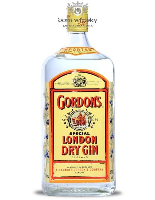 Gordon's London Dry Gin, Old Bottle / 47,3% / 1,0l
