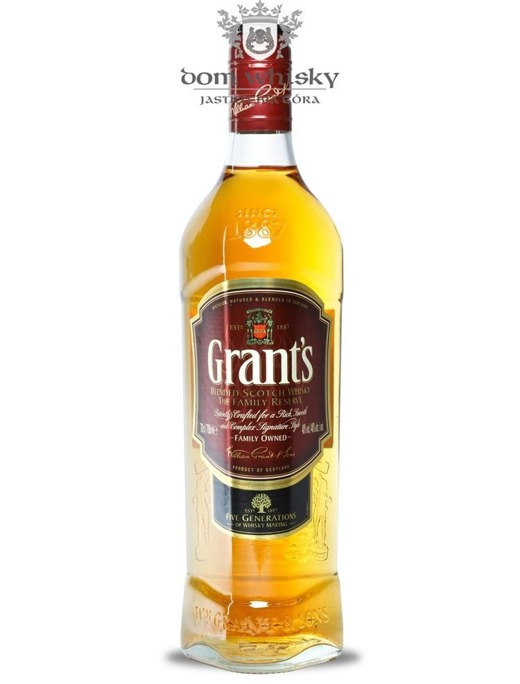 Grant's Blended Scotch Whisky / 40% / 0,5l