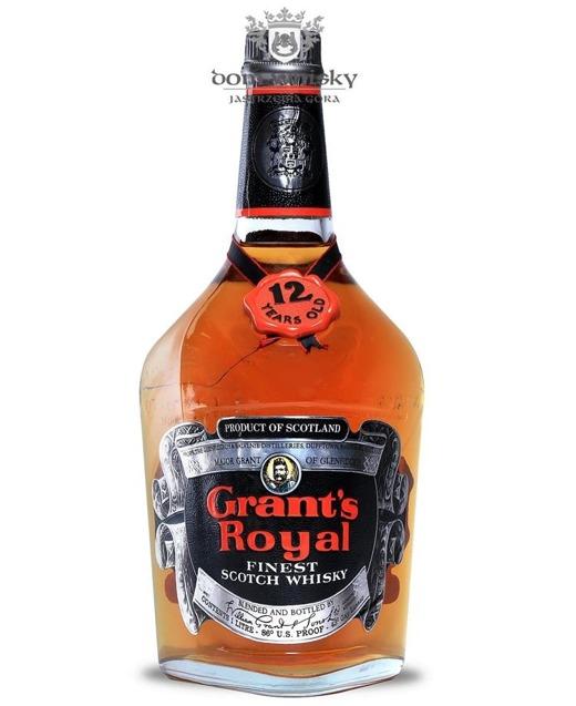 Grant's Royal 12-letni, Finest Scotch Whisky / 43% / 1,0l