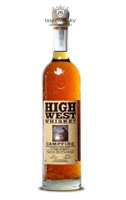 High West Campfire Straight Rye Whiskey (Utah) / 46% / 0,75l