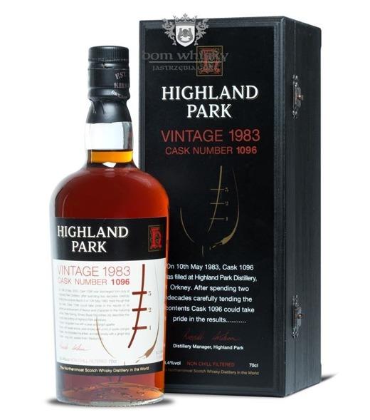 Highland Park 1983 Vintage, 20-letni (Cask # 1096) / 56,4% / 0,7