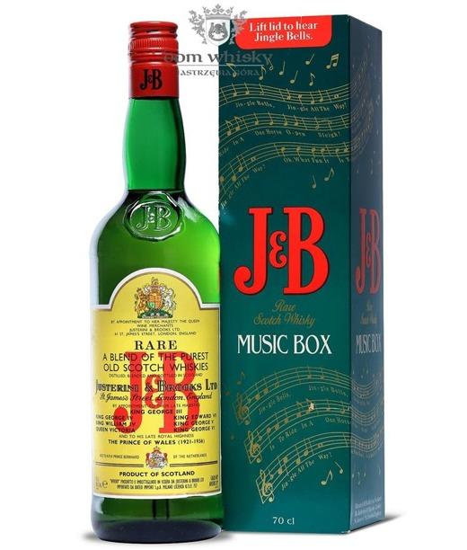 J&B Music Box Blended Scotch Whisky / 40% / 0,7l