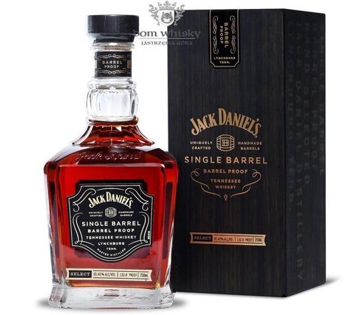 Jack Daniel's Single Barrel, Barrel Proof / 65,40%/0,75l