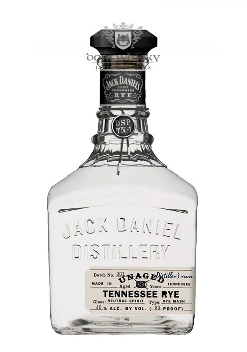 Jack Daniel's Unaged Tennessee Rye Batch 001 / 40% / 0,75l