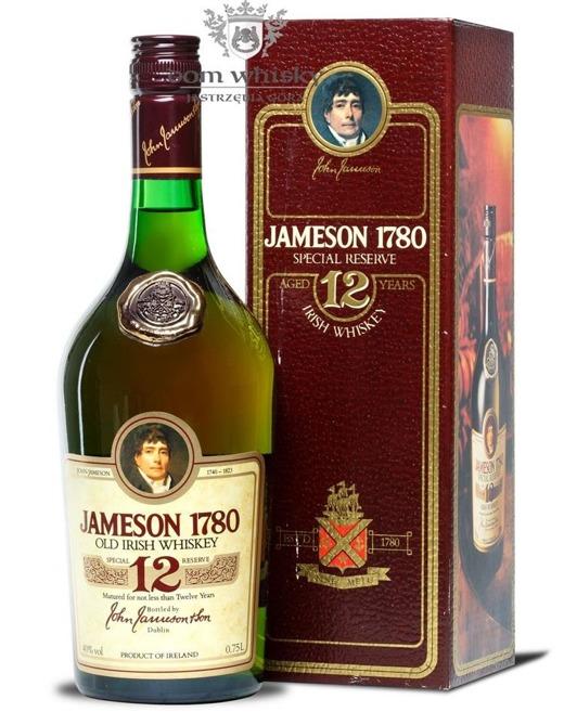 Jameson 1780 12 letni 1980s / 40% / 0,75l