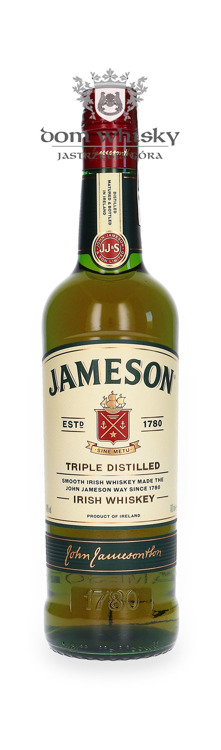 Jameson Irish Whiskey / worek / 40% / 0,7l