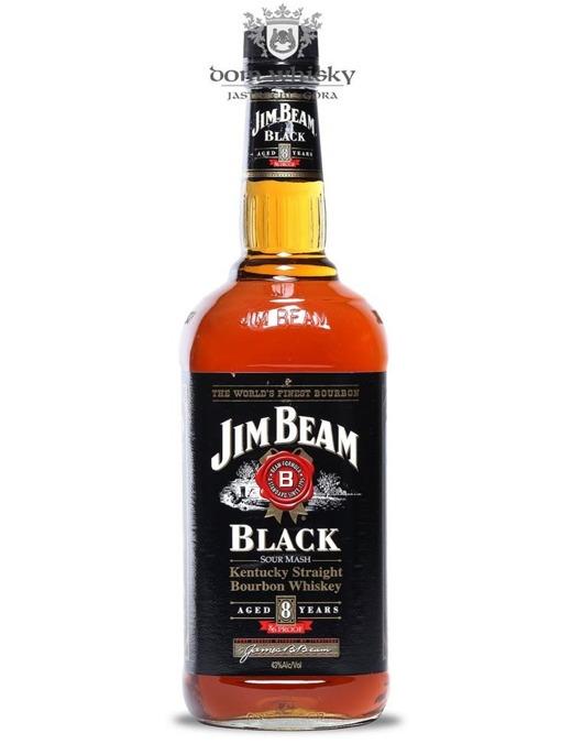 Jim Beam 8-letni Black Label / 43% / 1,0l