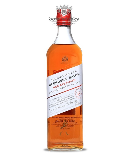 Johnnie Walker Blenders Batch Red Rye Finish / 40% / 0,7l