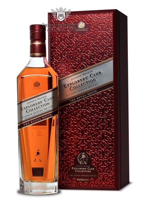 Johnnie Walker Explorer Royal Route / 40% / 1,0l