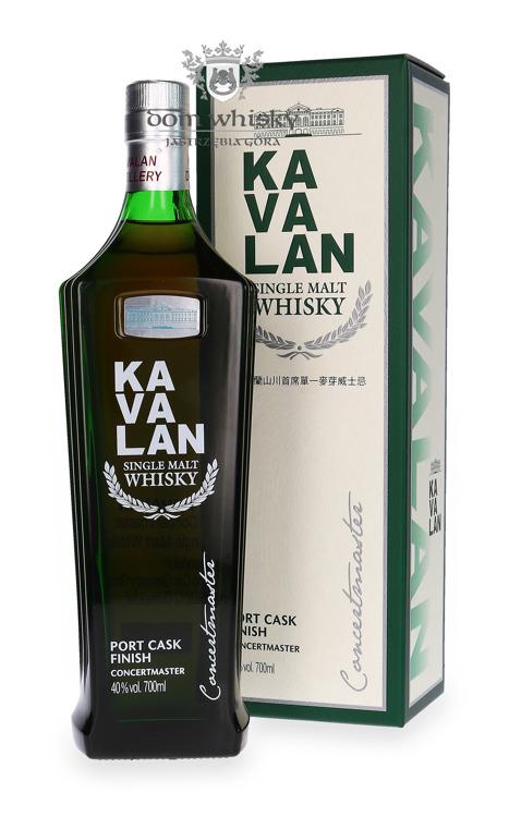 Kavalan Concertmaster Single Malt Port Finish / 40% / 0,7l