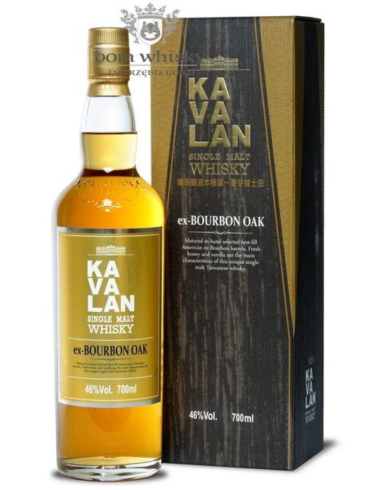 Kavalan Single Malt ex-Bourbon Oak / 46% / 0,7l