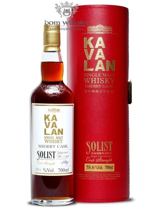 Kavalan Solist Single Malt Sherry Cask S100303011A /57,1%/0,7l