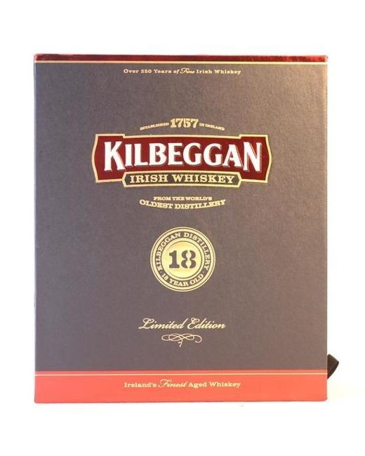 Kilbeggan 18 letni LIMITED EDITION Batch 0003 / 40% / 0,7 l