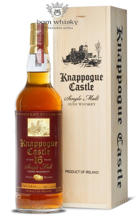 Knappogue Castle 16 letni Sherry Finish / 40% / 0,7l
