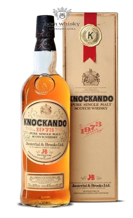 Knockando 1973 Season (Bottled 1985) /43%/ 0,75l