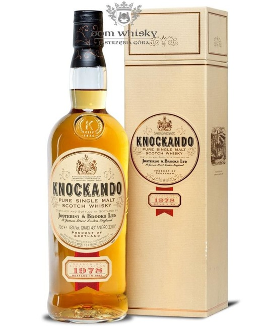 Knockando 1978 (Bottled 1992) /43%/0,7l